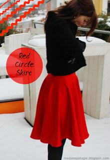 Κόκκινη φούστα κλος