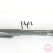 Στυλό μαρκαδόρος Pentel touch sign pen γκρι