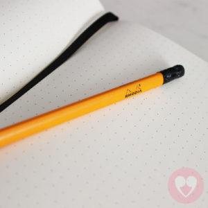 Τετράδιο Rhodia για bullet journaling