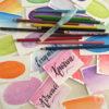 Ξυλομπογιές ακουαρέλας 12 χρώματα