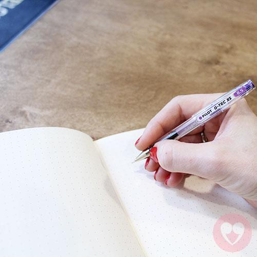 Μίνι στυλό Pilot gel 05