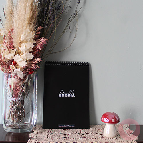 Μπλοκ σπιράλ Rhodia A4 με βούλες