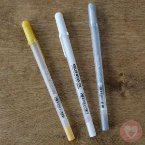 Στυλό Sakura Gelly Roll the favorites σετ των 3