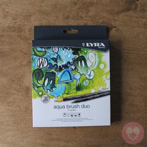 Lyra Aqua Duo Brush διπλός μαρκαδόρος για brush lettering, καλλιγραφία και ζωγραφική σετ των 24