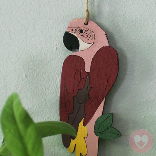 ξύλινος παπαγάλος