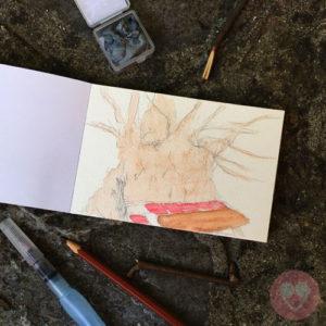 Μπλοκ με χαρτί ακουαρέλας Α6 για καρτ ποστάλ