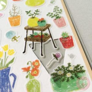 Αυτοκόλλητα Midori sticker Marché
